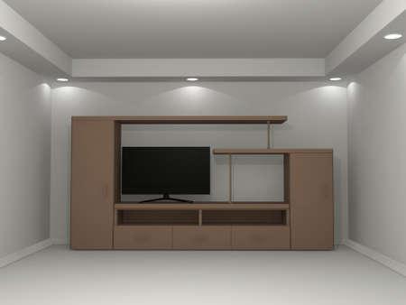 fixture: Interior model Stock Photo