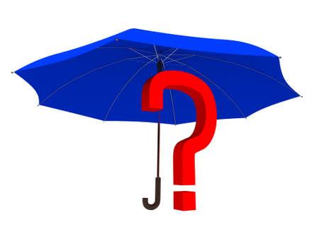 riddle: Riddle under an umbrella