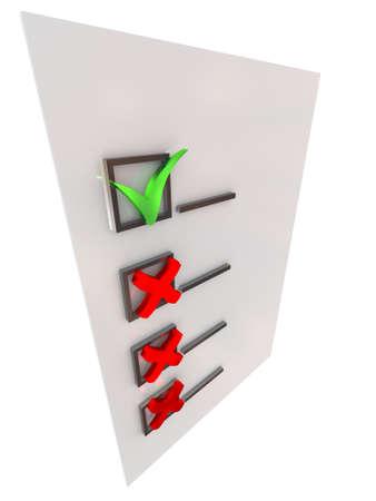 electing: Checkmark
