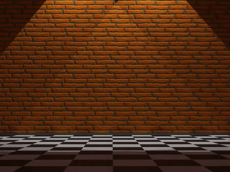 premise: Wall from a red brick