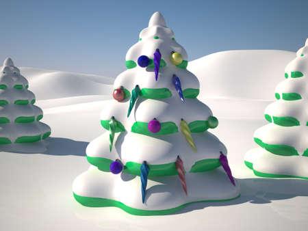 New Year tree Stock Photo - 11766656