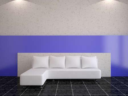 Minimalist interior photo