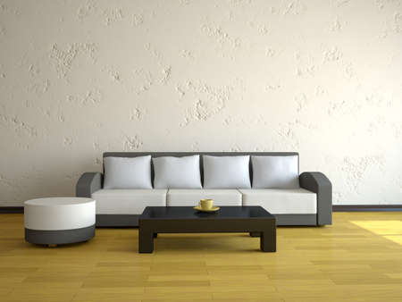 Interior of a room with a sofa Stock Photo - 12580253