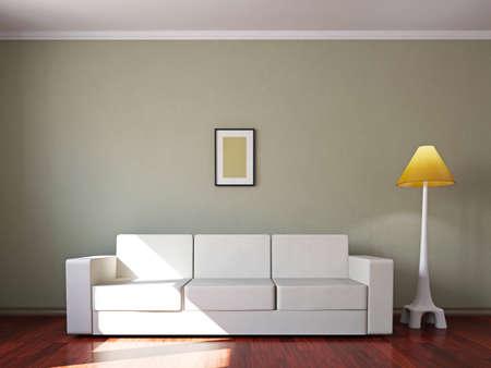 Woonkamer Groen Bruin: Woonkamer bruin blauw schilderij quot roze ...