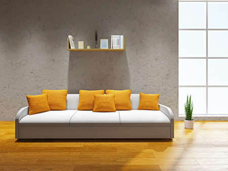 Livingroom  with sofa