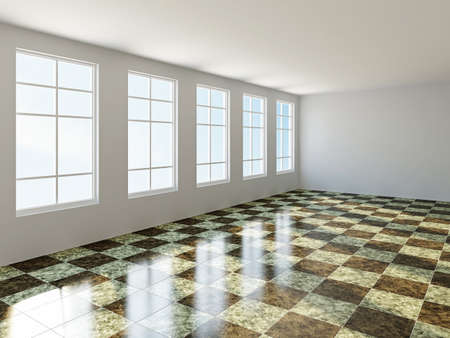 home addition: The big room with a panoramic window