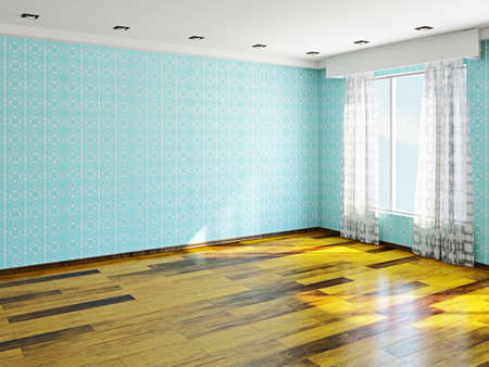 The empty room with window Stock Photo - 22989643