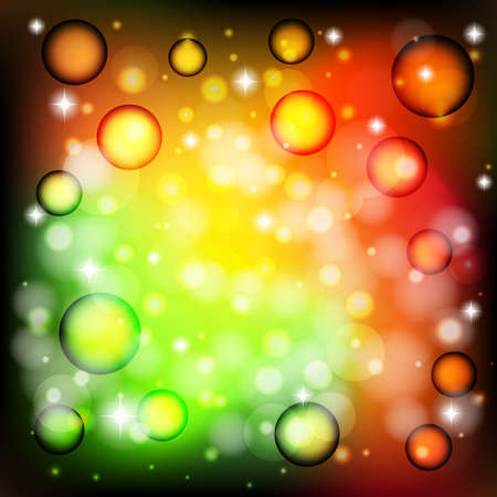 Color background with bright star Vector