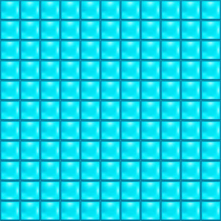 Background with blue tiles Vector