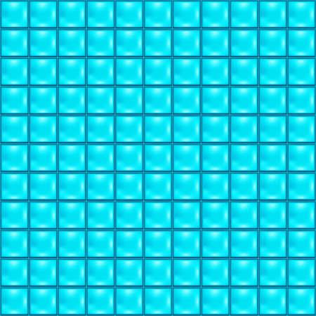 blue white kitchen: Background with blue tiles Illustration
