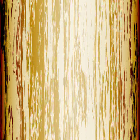parquet texture: Old shabby wooden board Illustration