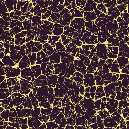 Vector seamless texture of cracks Vector