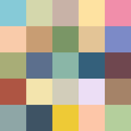 Vector seamless background with colored squares Vector