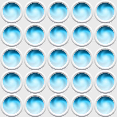 whirpool: Abstract background with circle elements