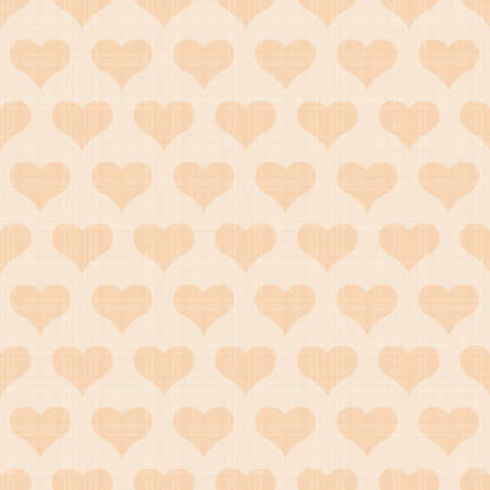 Seamless vector texture with hearts Vector