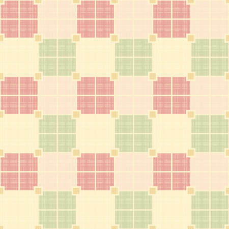 Seamless vector texture with color squares Vector