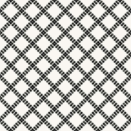black dots: Seamless vector texture with black dots Illustration