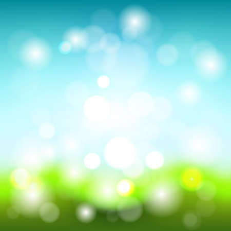 Bright vector summer abstract background