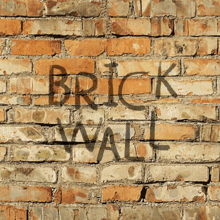 old brick wall: Realistic texture: dirty and old brick wall Illustration