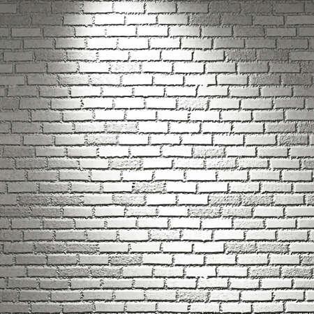 Vector texture:  empty white brick wall