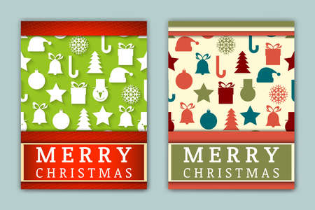 christmas backgrounds: Vector Holiday Backgrounds. Invitation Illustration. Decoration Templates. Greeting Ornament Flyers for Christmas and New Year Celebration.