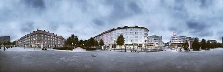 panoramas: Buildings at town square LANG_EVOIMAGES