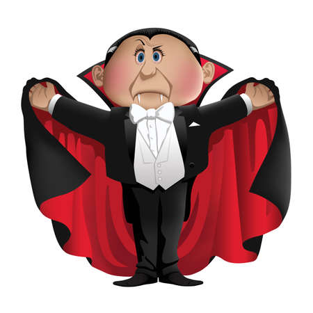 Count Dracula Illustration