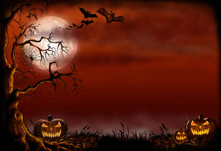 Halloween Background Stok Fotoğraf