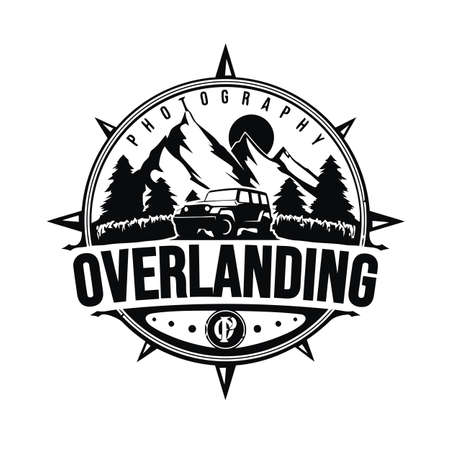 Mountain logo design vector illustration