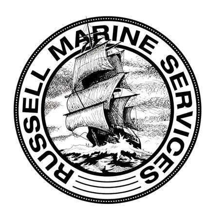 Marine ships  design vector Banco de Imagens - 156553704