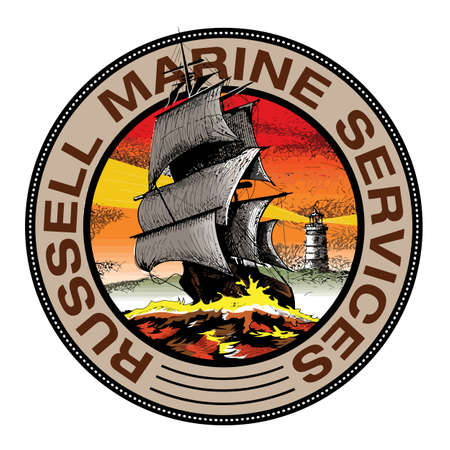 Marine ships  design vector Banco de Imagens - 156553717