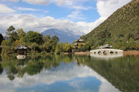 province: Black Dragon Pool, Lijiang, Yunnan Province China