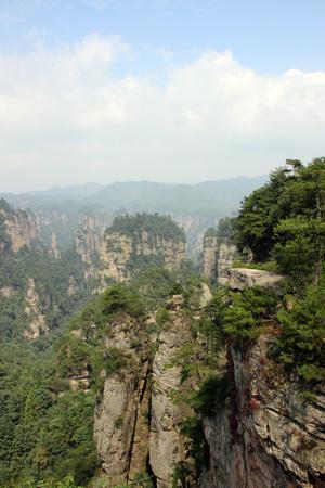 hunan: Avatar Halleluya peak Zhangjiajie in Hunan province, China