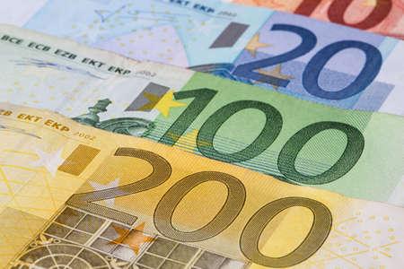 Euro Banknotes photo