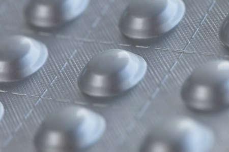 Pills close up