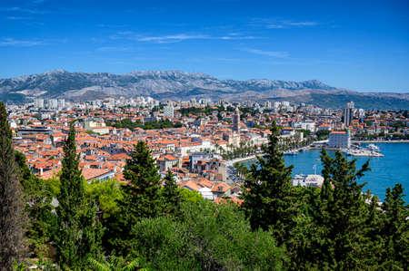 View of Split, Croatia Stock Photo
