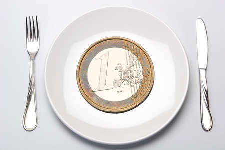fission: Budget, Finance, Money, Calculation, Fission, Euro, Europe Stock Photo