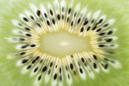 abstract background naturale esplosiva, verde tagliato kiwi