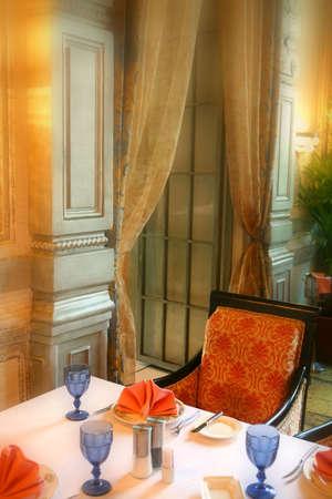 Interno della Sala da pranzo in stile