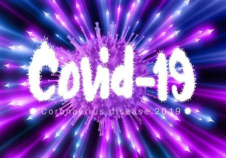 Unique 3d rendering illustration of Covid 19 Coronavirus Outbreak Zdjęcie Seryjne