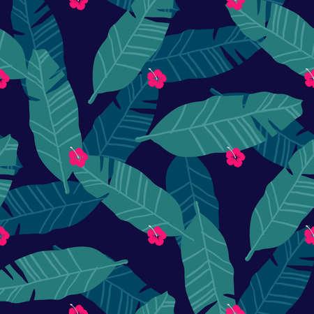 Banana leaf wallpaper Illustration