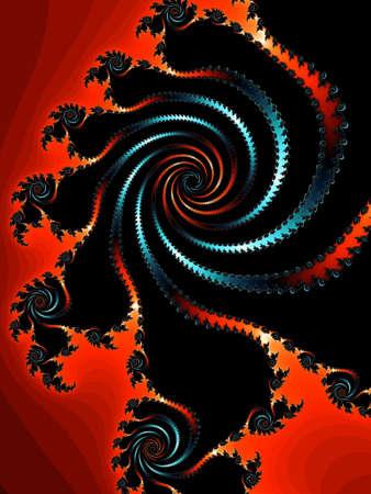 eyecatcher: Patterned fractal background