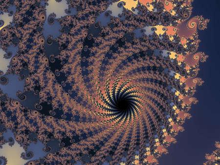 eyecatcher: Grasufull fractal spiral