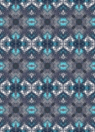 smoky: Smoky seamless pattern in blue colors