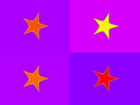 Four stars poster photo