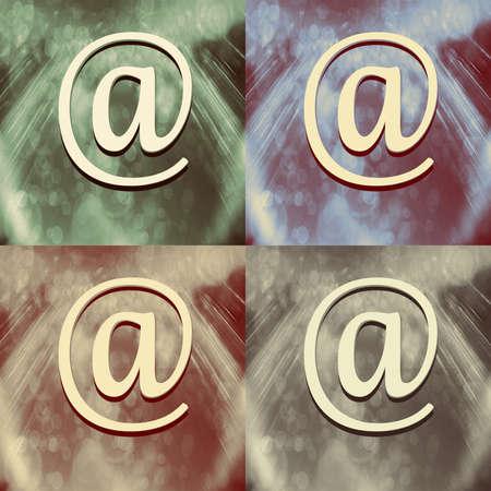 Sign e-mail photo