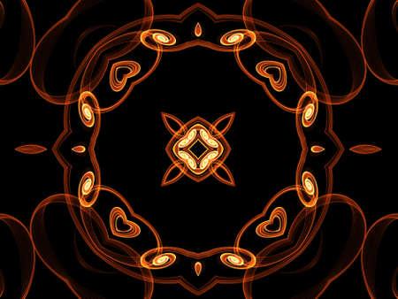 smoky: Brown smoky ornament