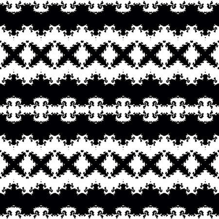 appealing: Seamless decorative pattern in a graphic style Stock Photo
