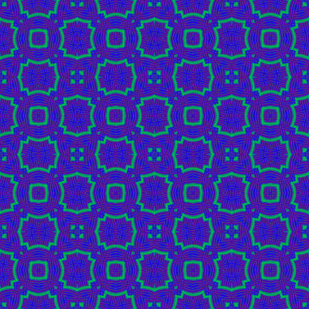 appealing: Seamless decorative pattern in a blue colors Stock Photo