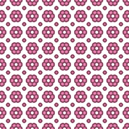 patten: Seamless decorative patten with flowers Stock Photo